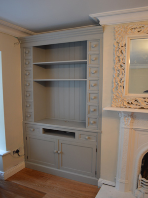 Fitted Tv Alcove unit