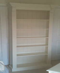 Any Size Shelving painted white