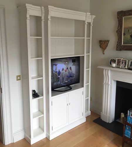 Made to measure Decorative Breakfront TV Unit.