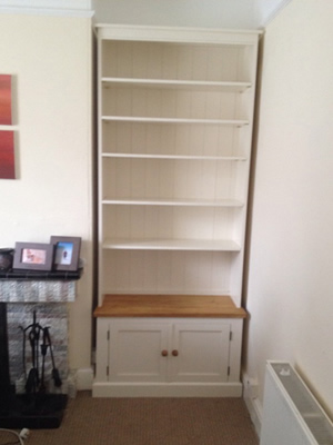 Made to measure Free standing Alcove Unit