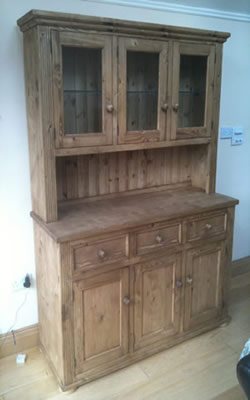 Made To Measure 3 Door Gl Kitchen Dresser