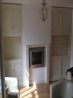 Made to measure Double Alcove Units