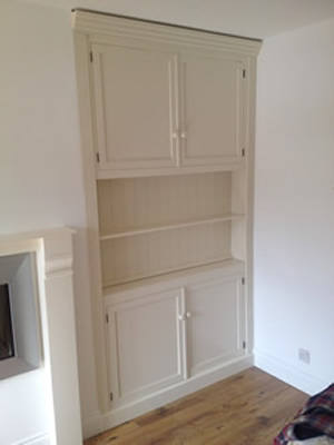 Alcove unit Painted & Fitted
