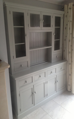 Large hand made to order kitchen dresser