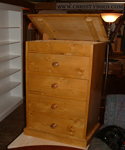Made measure Tallboy Chest of drawers