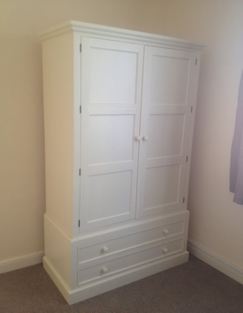 Painted Made to Measure wardrobe