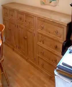 made to order long sideboard