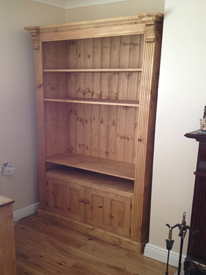 Free Standing Tv Alcove Unit