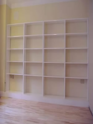 Any Size Alcove Shelving