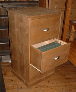 Wooden Filing Cabinet made to measure