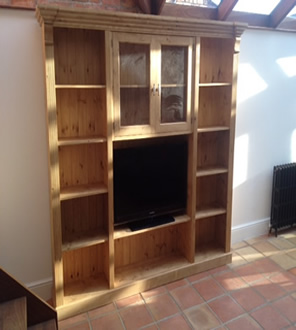 Cd and dvd shelving unit made to order