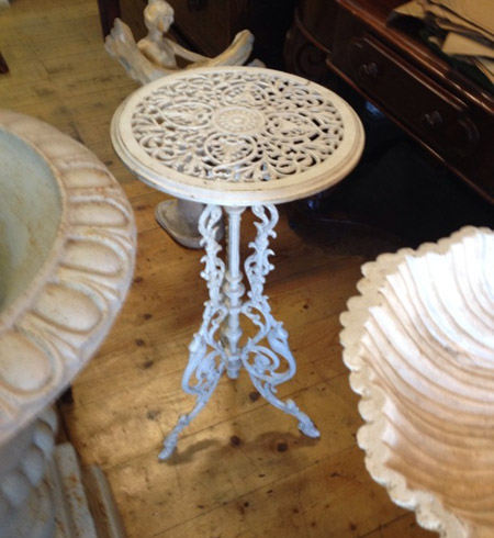 Cast Iron Plant Table