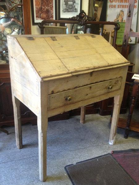 Antique Pine school desk. Great old teachers desk ... - CHRISTY BIRD - Antique Pine School Desk. Great Old Teachers Desk