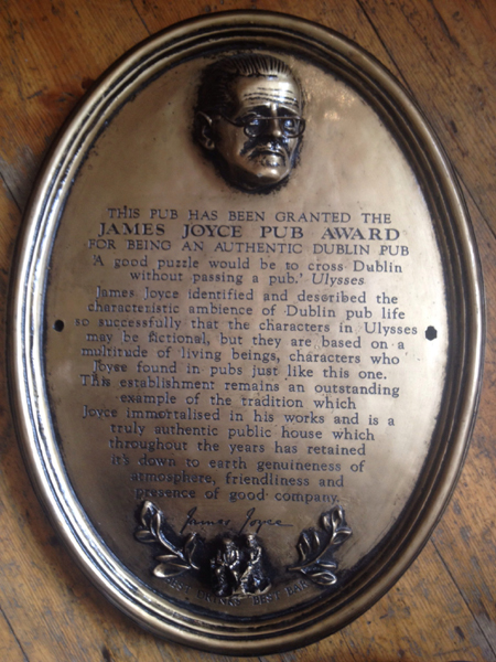 James Joyce award